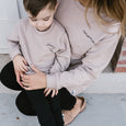 original baby sweater - fawn