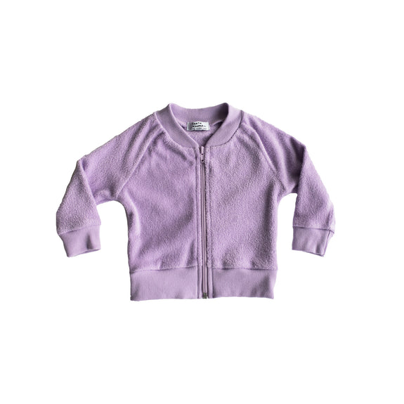 bomber jacket - grape soda