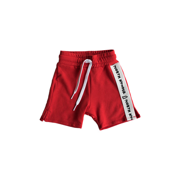 speed shorts - crayon red