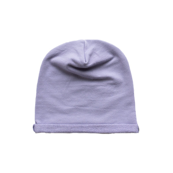 slouchy hat - grape