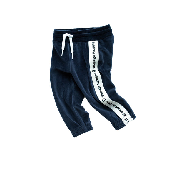 velour speed joggers - blueberry
