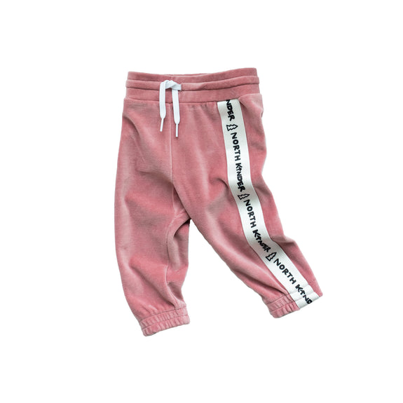 velour speed joggers - cotton candy