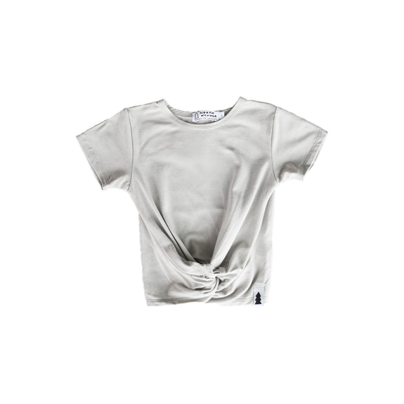knotted tee - cloud