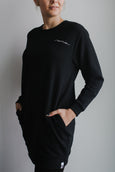 mama sweater -  black