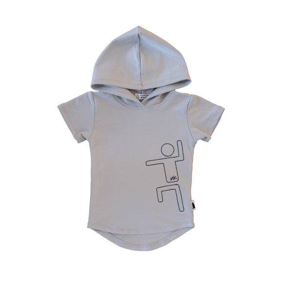 hooded tee - cloud nk kid #nklovespeople