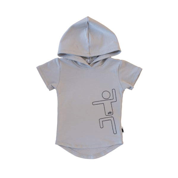 hooded tee - cloud nk kid