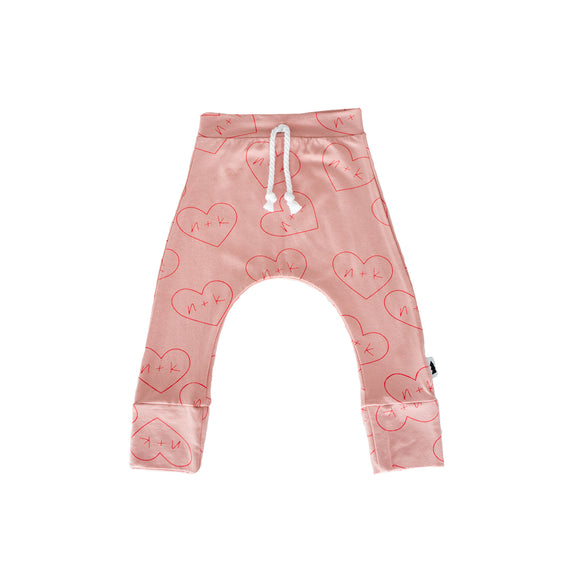 joggers - blush nk hearts  #nklovespeople