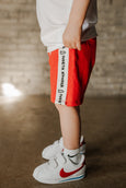 speed shorts - crayon red *pre-order*
