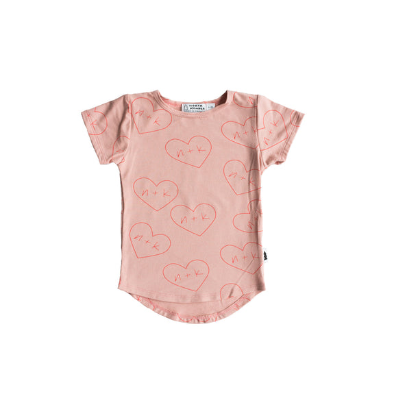 t-shirt - nk hearts blush #nklovespeople