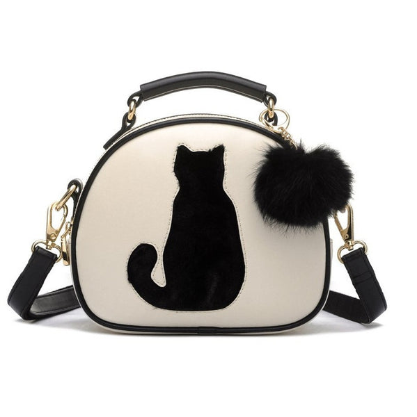 Cat Lover Bowler Bag