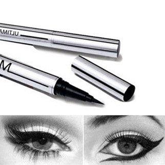 Black Waterproof Liquid Eyeliner Pen Long Lasting