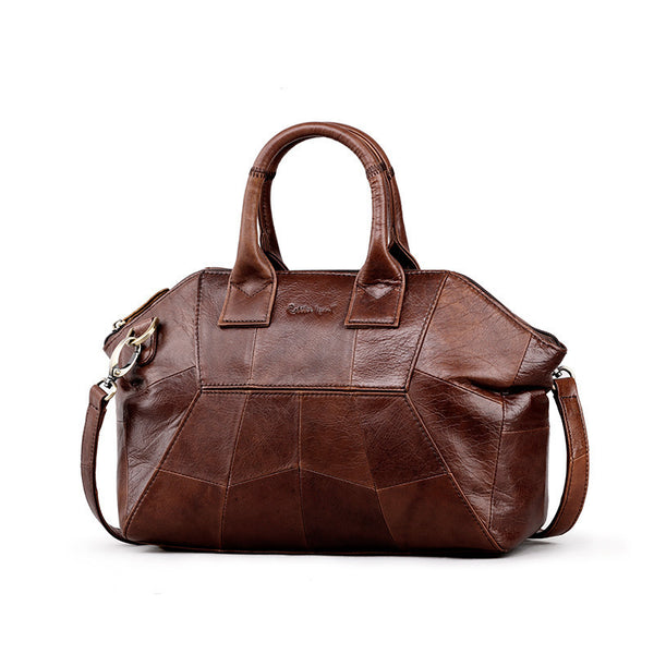 Professional's Handbag Genuine Leather