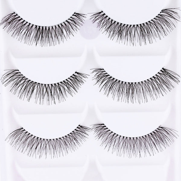 Set of 10 Pieces False Eyelashes