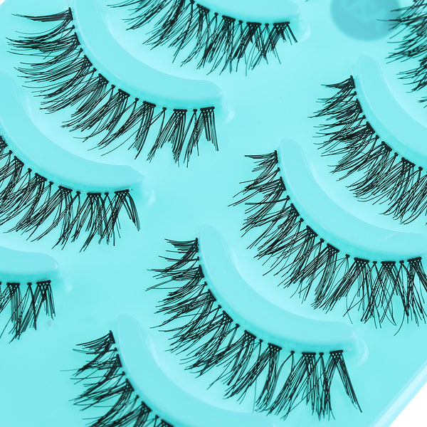 5 Pairs Soft False Eyelashes