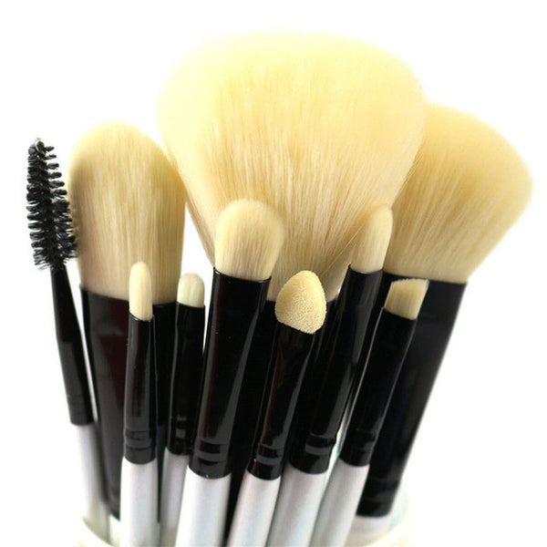 Set of 10 High Quality Professional Makeup Brushes