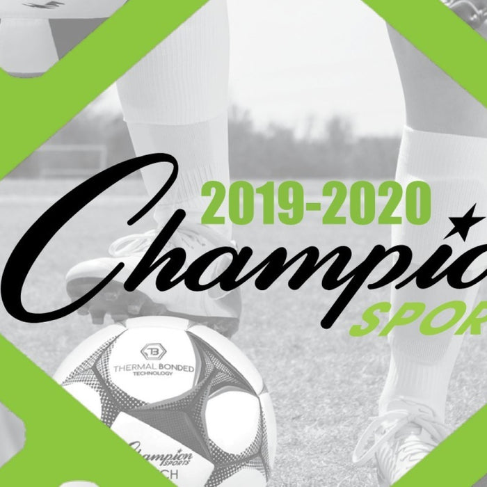 We now offer products from the full Champion Sports 2019-2020 catalog!