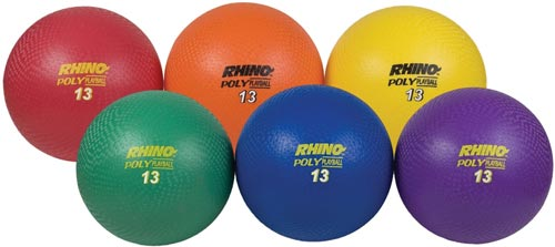 "1/16/2018: 15% Off 13"" Ultimate Rhino Poly Playball Set"