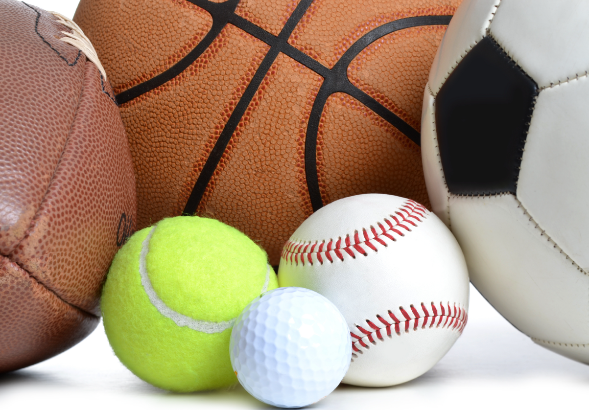 Balls from multiple sports sold at Gear Up Sports