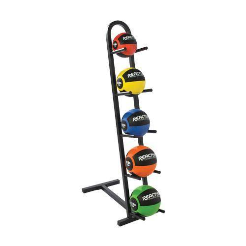 5 Ball Vertical Medicine Ball Rack