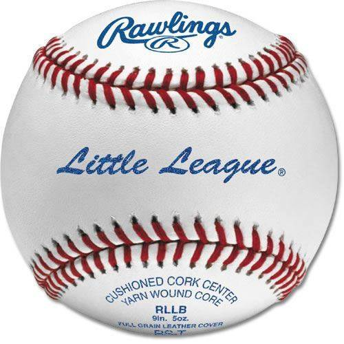 Rawlings Leather RLLB-1 Little league Baseball - Dozen