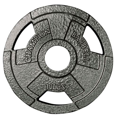 "2"" Olympic Grip Plates by Champion Barbell"
