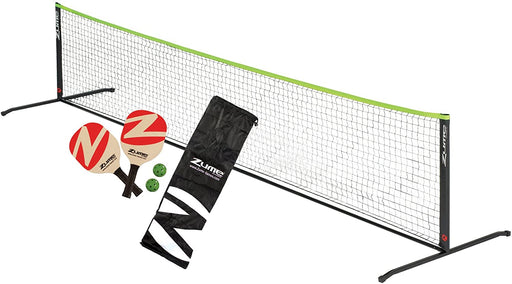 Zume Pickleball Set | 2 Paddles, 2 Balls, 12ft. Net, & Carrying Case