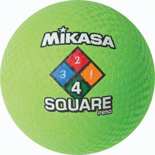 Mikasa Four Square Balls (Set of 4) | PE Equipment & Games | Gear Up Sports