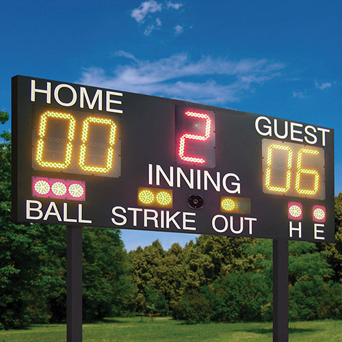LED Baseball Scoreboard | Balls, Strikes, Outs, Hits & Errors