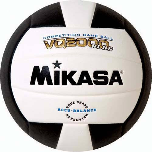 Black & White Mikasa Premier Volleyball | Gear Up Sports