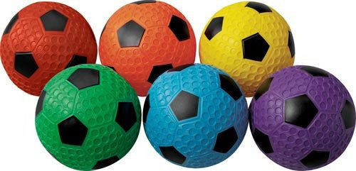 Dimple Soccer Balls - Set of 6 | PE Equipment & Games | Gear Up Sports