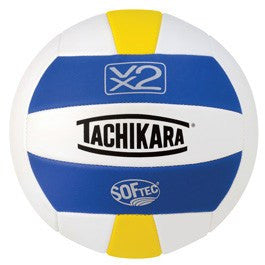 Tachikara SofTec VX2 Volleyball (Multiple Color Options) | PE Equipment & Games | Gear Up Sports