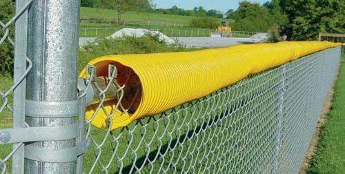 Yellow Fence Crown (100' or 250') | PE Equipment & Games | Gear Up Sports