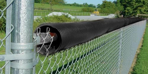 Black Fence Crown (100' & 250' Rolls Available) | PE Equipment & Games | Gear Up Sports