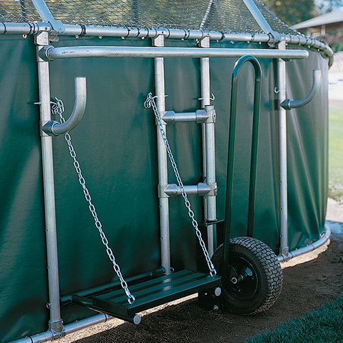 Batting Cage Viewing Stand for Coaches | Rear Mount