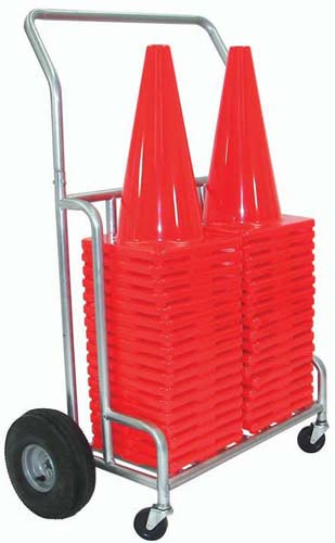 "Double EZ-Roll 12""/18"" Cone Cart 