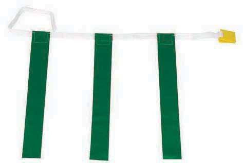 Three-Flag Belts (Pack of 12) | PE Equipment & Games | Gear Up Sports