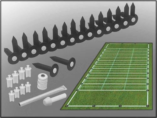 Football Practice or Band Field Lining Set | PE Equipment & Games | Gear Up Sports