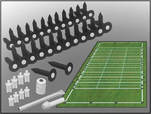 Entire Football Field Lining Set | PE Equipment & Games | Gear Up Sports