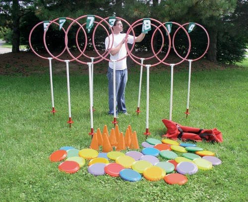 Disc Golf Target Set (3 or 9 Hole Options) | PE Equipment & Games | Gear Up Sports