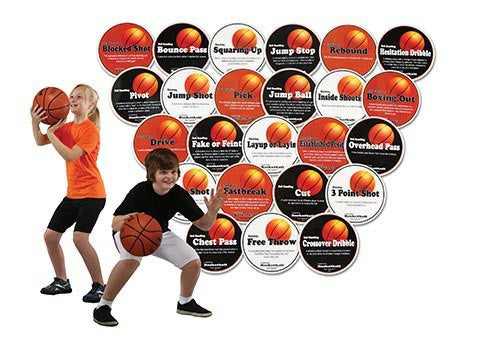 Poly Basketball Hotspots | PE Equipment & Games | Gear Up Sports