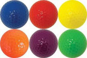24 Pack of Golf Balls (Select Your Color) | PE Equipment & Games | Gear Up Sports