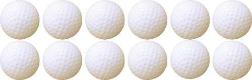 Hollow Plastic Golf Balls (Set of 48) | PE Equipment & Games | Gear Up Sports