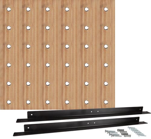"36"" Square Pegboard 