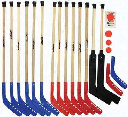 "42"" Deluxe Wood Hockey Set 