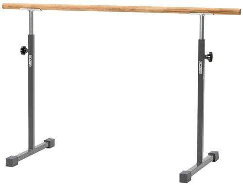 Free Standing Ballet Bar with 5' Rail (Oak or Poplar) | PE Equipment & Games | Gear Up Sports