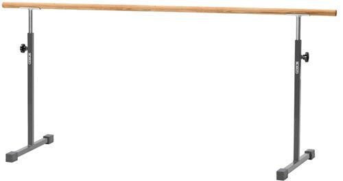 Free Standing Ballet Bar with 8' Rail (Oak or Poplar) | PE Equipment & Games | Gear Up Sports