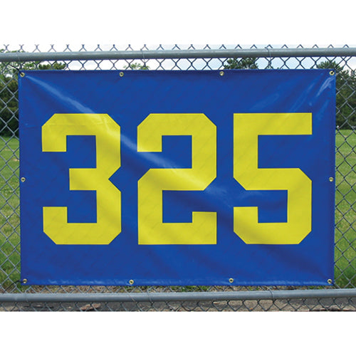 "38"" x 56"" Outfield Fence Distance Marker 