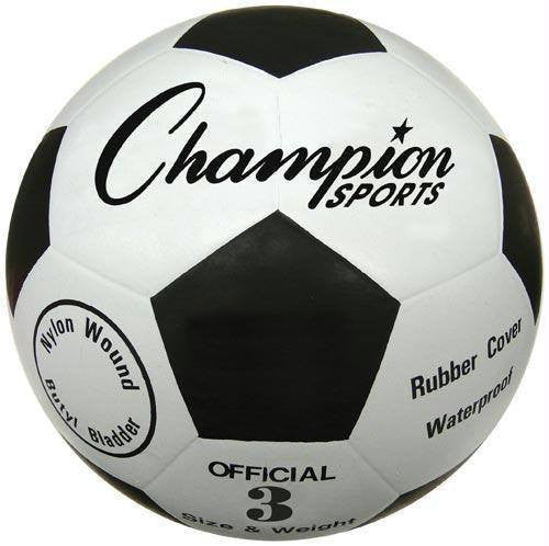 Size 3 Budget Rubber Soccer Balls | PE Equipment & Games | Gear Up Sports