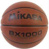 Mikasa Intermediate BX1010 Rubber Basketballs (Pack of 3) | PE Equipment & Games | Gear Up Sports