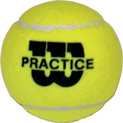 Wilson Practice Tennis Balls (Pack of 5 Cans) | PE Equipment & Games | Gear Up Sports